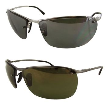 Ray Ban Mens RB3544 Chromance Polarized Sunglasses
