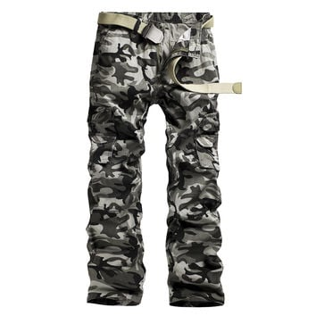 Men Casual Camouflage Autumn Stylish Pants [9724847043]