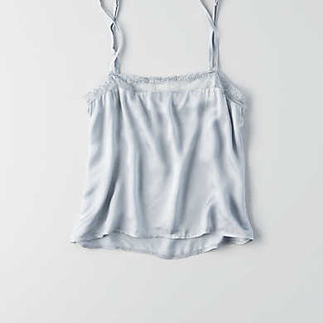 Don't Ask Why Satin Cami, Stone Gray
