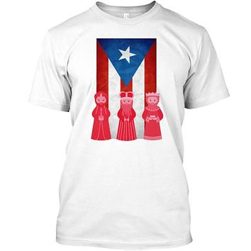 Puerto Rico 3 Kings Wise Man Day T-Shirt