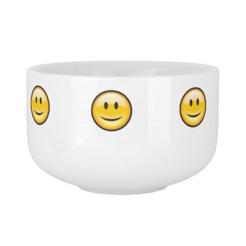 Smiley Face Soup Mug