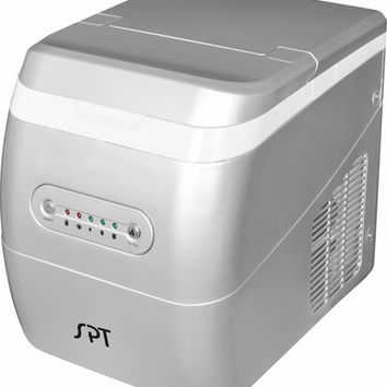 SPT-IM-124S Portable Ice Maker - Silver