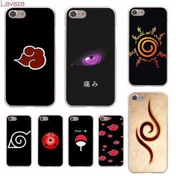 Lavaza Anime Naruto Hard Phone Case for iPhone 6 6s 7 8 Plus 4 4S 5 5S SE for iPhone XS Max XR Shell Cases
