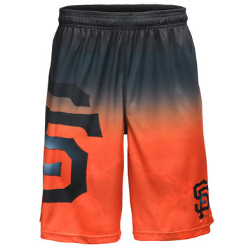 San Francisco Giants Official MLB Gradient Big Logo Training Short - Mens