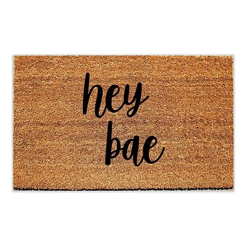 Hey Bae Doormat