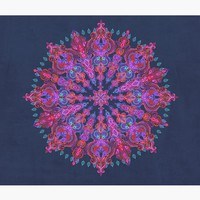 'Bohemian' Wall Tapestry by micklyn