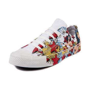 Converse All Star Lo Wonder Woman Sneaker, Wonder Woman - White | Journeys Shoes