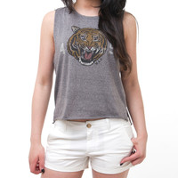 COUGAR CROP TOP
