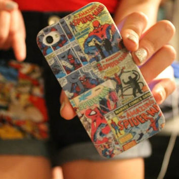 Superhero Comic Book Case by CasesbyOliviaRose on Etsy