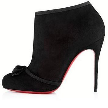 Christian Louboutin Women Fashion Casual Heels Shoes Boots-61