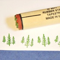 Tree Trio Rubber Stamp