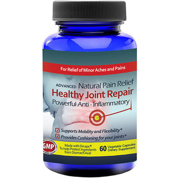 Totally Products Healthy Joint Repair Anti-inflammatory Pain Relief Supplement (60 Capsules) - Provide natural pain relief