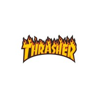 Thrasher Magazine Shop - Flame (Med) sticker