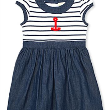 Stripe Anchor Dress