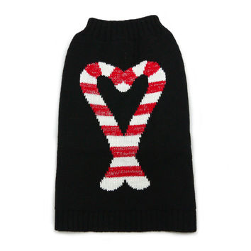 Candy Cane Dog Sweater XXS - 4XL by Dogo Pet Fashions