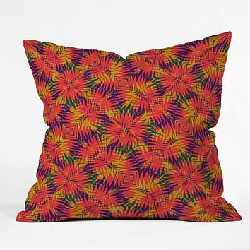 Wagner Campelo Tropic 4 Throw Pillow