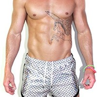 Marek+Richard Dragon Scales Running Shorts