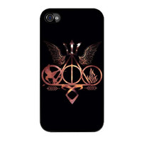 percy jackson harry divergent case for iphone 4 4s