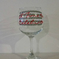 Wine glass A Time to Celebrate Barware
