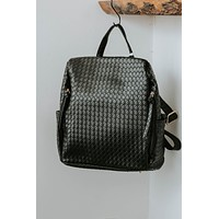 Joey Quilted Bag (Black)
