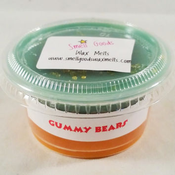 Gummy Bears Scented Wax Melts - Scent Shot - Wax Cup - Paraffin Tart - Floral Scented - Candy Scented Wickless Flameless Candle Melts