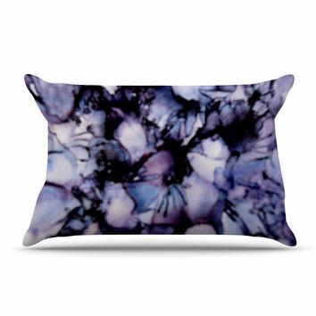 "Claire Day ""Violet"" Blue Purple Pillow Case"