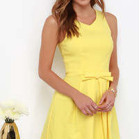 Hot Off the Precious Yellow Dress