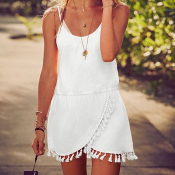 White Chantilly Dress