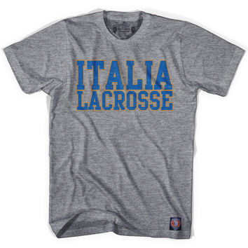 Italy Lacrosse Nation T-shirt