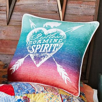 Junk Gypsy Restless Roaming Spirit Pillow Cover