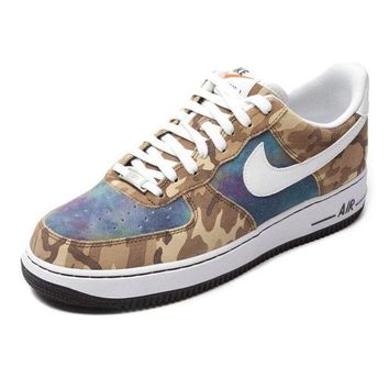 PEAP8KY Nike Air Force 1 718152 Camouflage For Women Men Running Sport Casual Shoes Sneakers