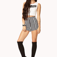 Mod Striped Shorts | FOREVER 21 - 2000074427