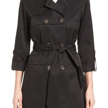 Vince Camuto Double Gunflap Trench Coat | Nordstrom
