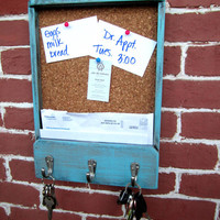 11 x 1525 x 2 Wooden Mail Holder Keyhook & by JolieMaeCollections