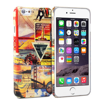 Snap Cover Glossy (San Francisco Pattern) for iPhone 6