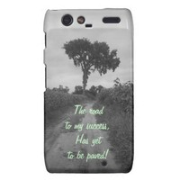 The Road To My Success Droid RAZR Case from Zazzle.com