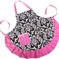 Rufflled Kitchen Aprons with Pockets, One Size Fits Most