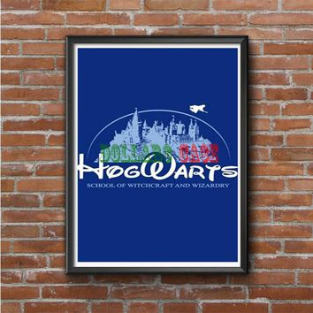 harry potter hogwart disney Photo Poster