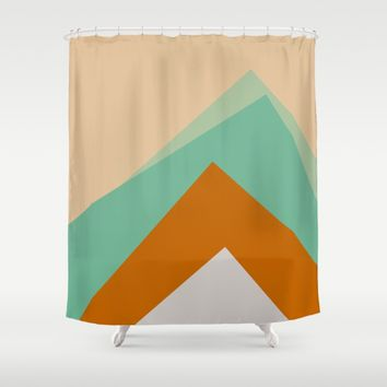 The Nordic Way VI Shower Curtain by Metron