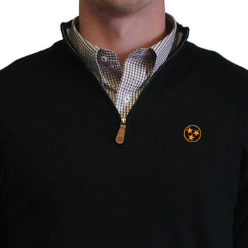 Tennessee TriStar 1/4-Zip Pullover Black