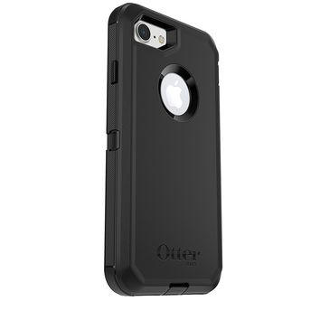 OtterBox DEFENDER SERIES Case for iPhone 7 (ONLY) - BLACK - Bulk Packaging (Case Only)