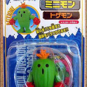 Digimon Adventure Minimon Toy Figure by Bandai Japan Togemon #6 DISCONTINUED!!!