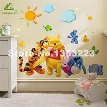 Winnie the Pooh Removable Wall Decal Sticker