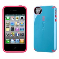 Apple Iphone 4 4s Speck Products Batwing Candyshell Cotton Dandy Blue At&t Retail Packaged