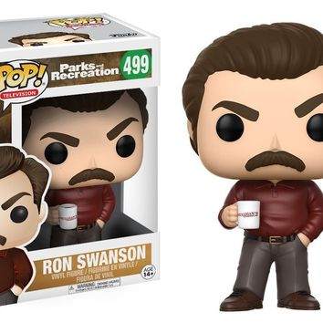 Funko Pop TV Parks & Recreation Ron Swanson 499 13036