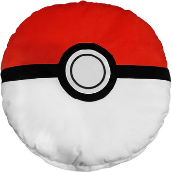 "Pokemon Poke-Ball 19"" Large Pillow with Pocket"