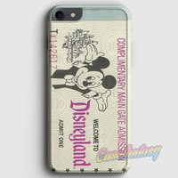 Disney Moouse Tickets iPhone 7 Case