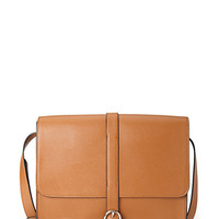 FOREVER 21 Faux Leather Flap Satchel