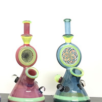 Phatass Glass Worked Yetti Beakers Water Pipe