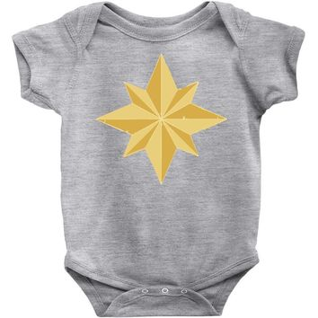 captain marvel 2 Baby Bodysuit